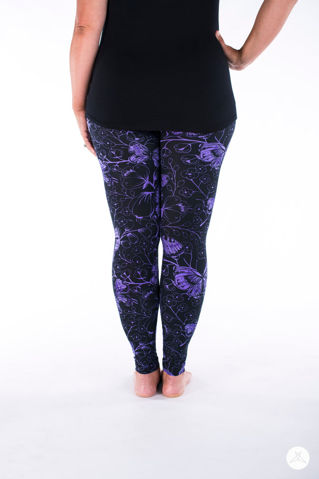 Butterfly Bliss leggings - SweetLegs