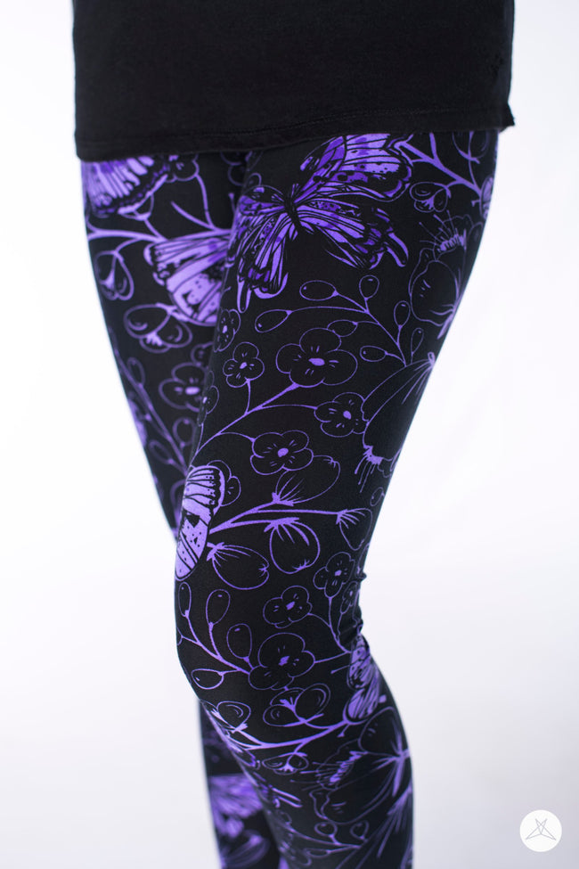 Butterfly Bliss Kids leggings - SweetLegs