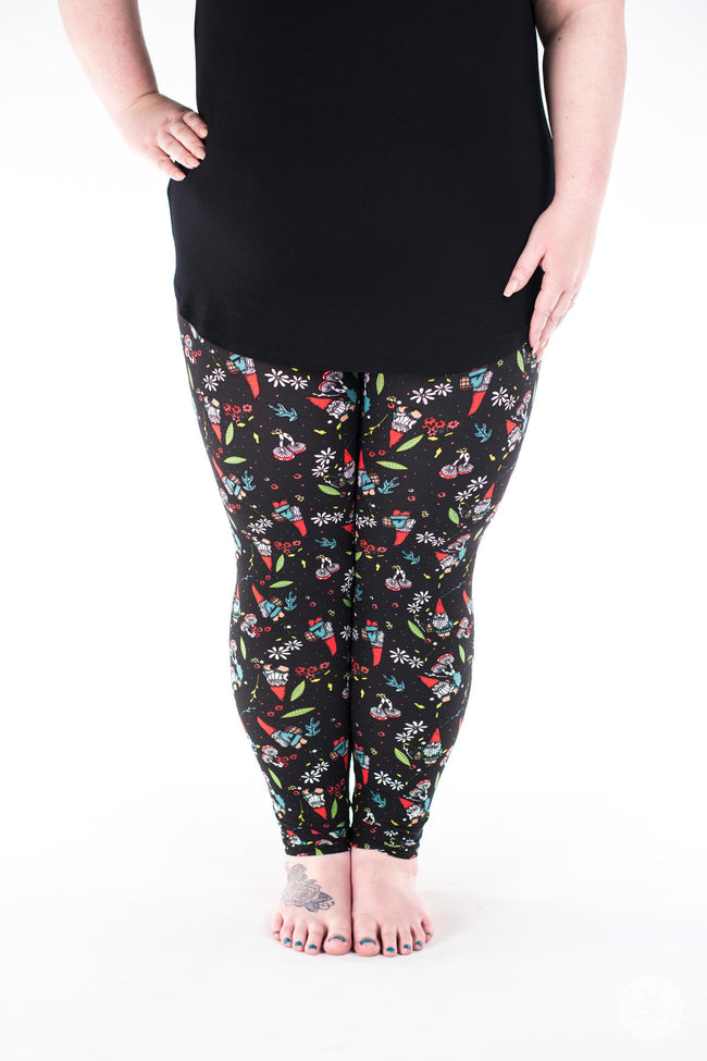Garden Party Plus leggings - SweetLegs