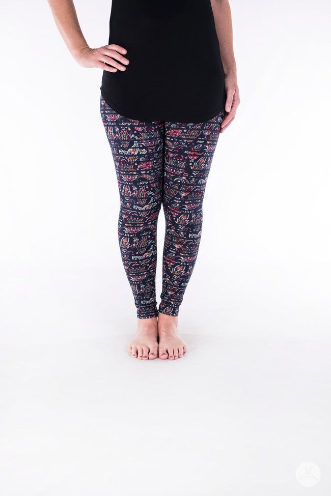 Heirloom Petite leggings - SweetLegs