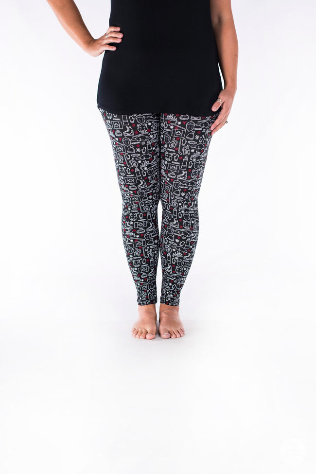 Oh Canada 2 leggings - SweetLegs