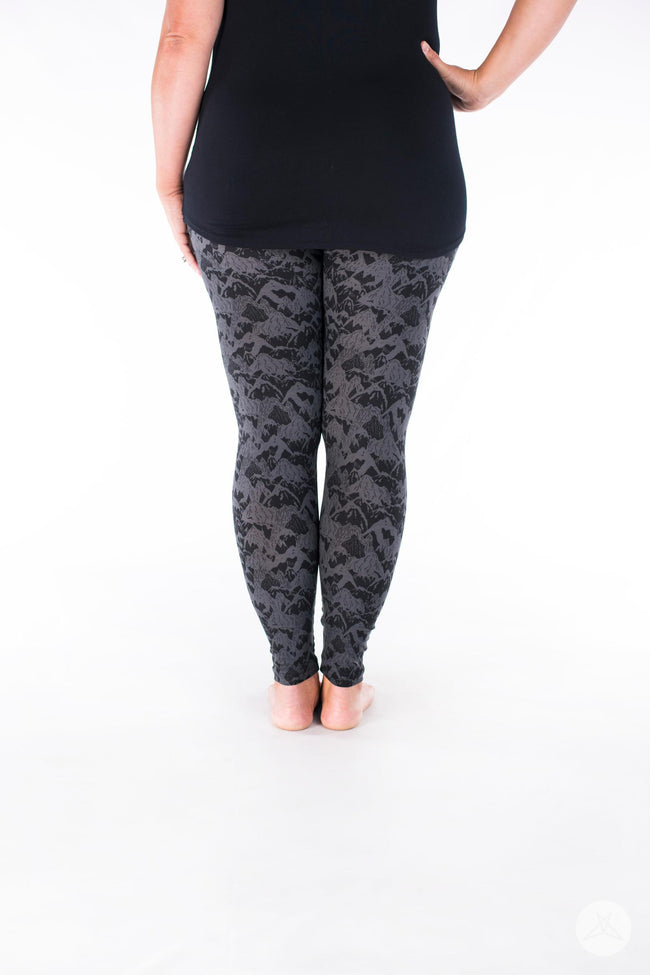 Black Diamond leggings - SweetLegs