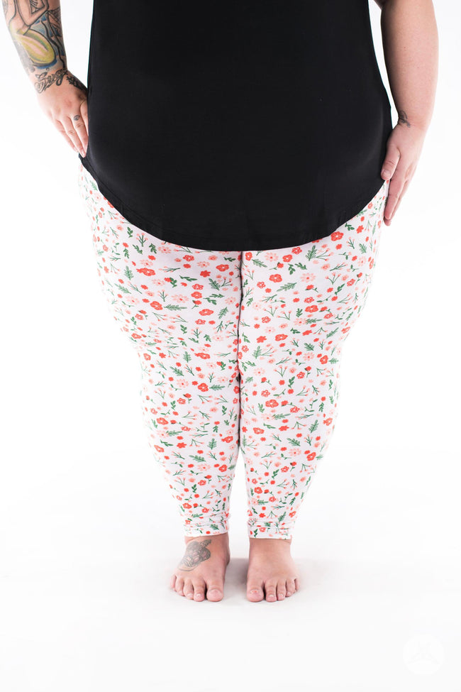 Flower Child Plus2 leggings - SweetLegs