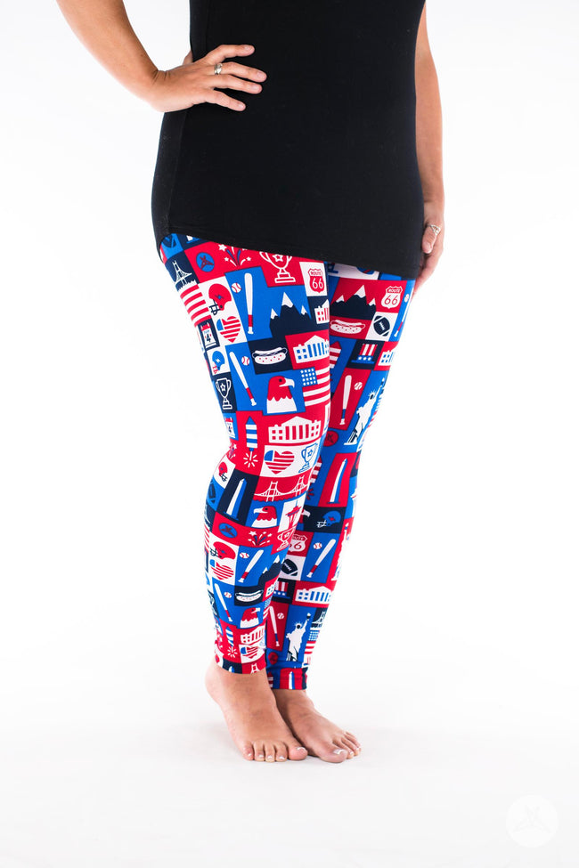 Liberty leggings - SweetLegs