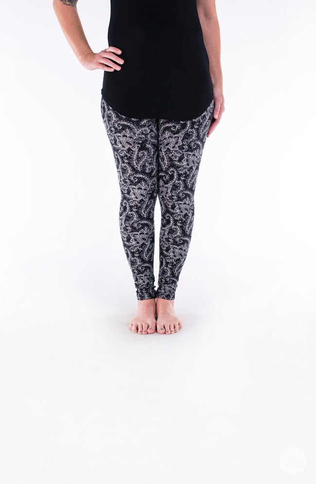 White Fern Petite leggings - SweetLegs