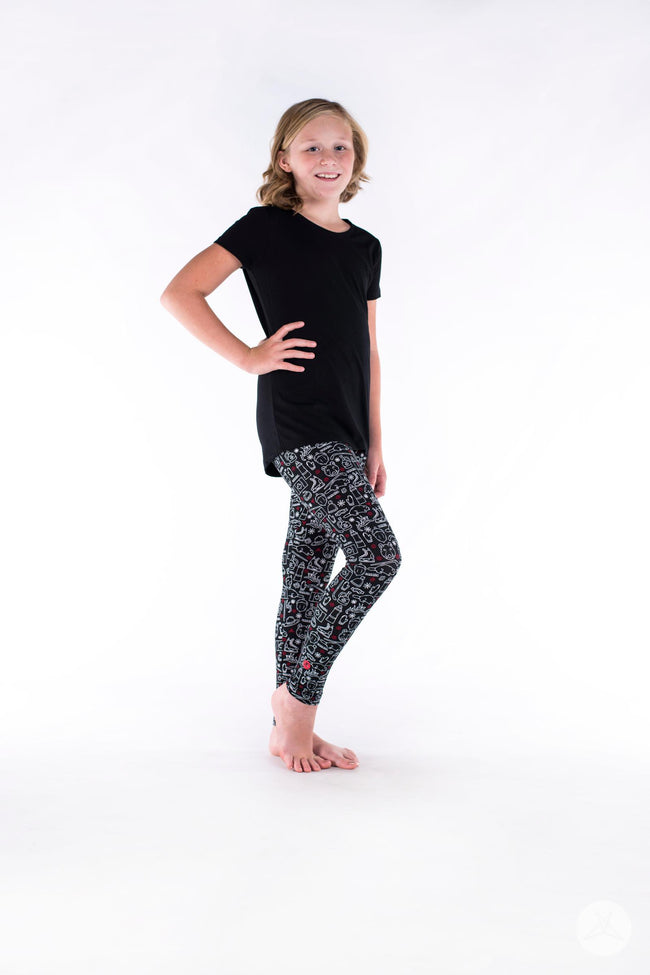 Oh Canada 2 Kids leggings - SweetLegs