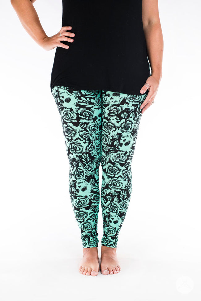 Bad Romance leggings - SweetLegs
