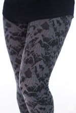 Black Diamond Petite leggings - SweetLegs