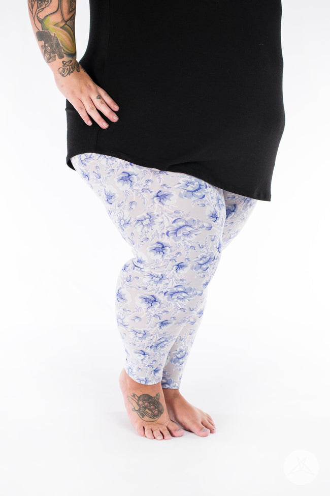 Darling Blue Plus2 leggings - SweetLegs