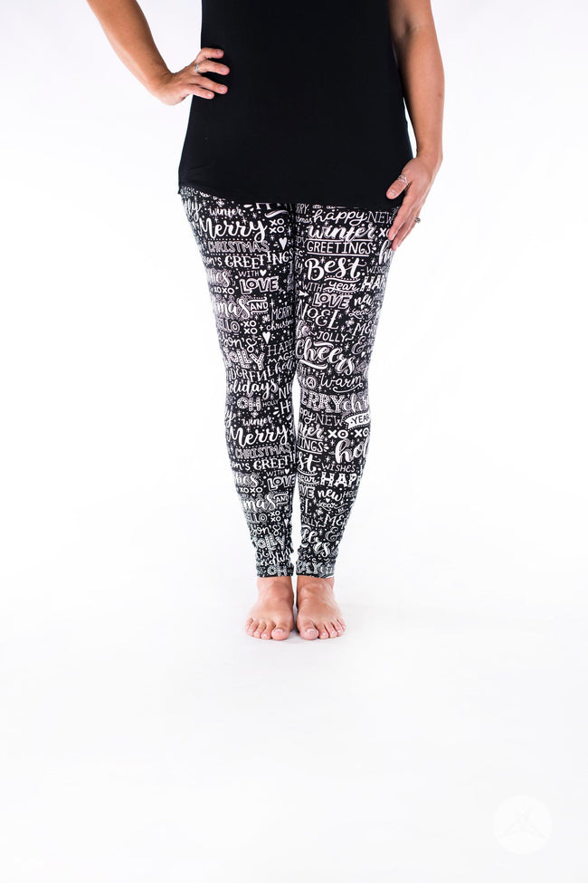 Season's Greetings leggings - SweetLegs