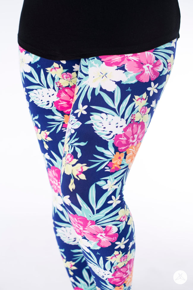 Hot Tropics Petite leggings - SweetLegs