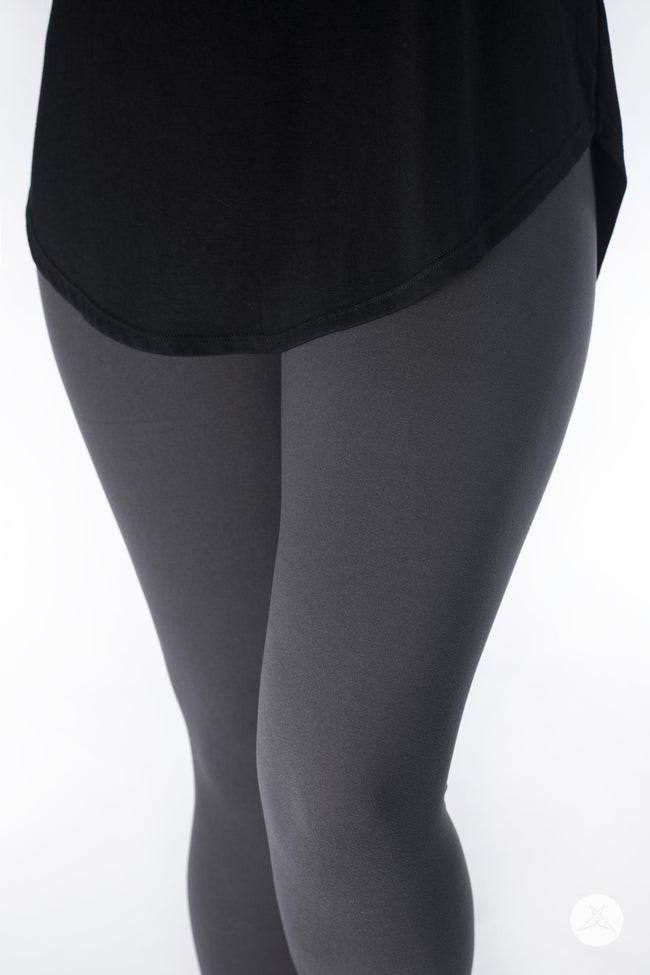 Charcoal Petite leggings - SweetLegs