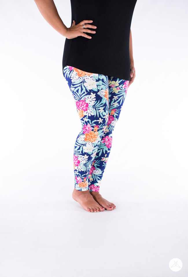 Hot Tropics leggings - SweetLegs