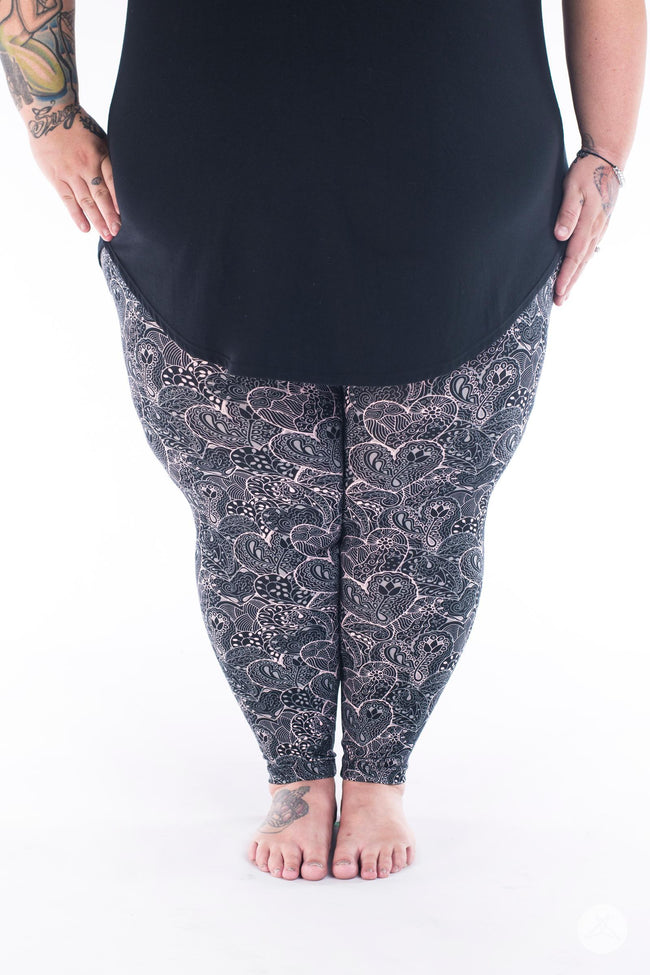 Forever Yours Plus2 leggings - SweetLegs