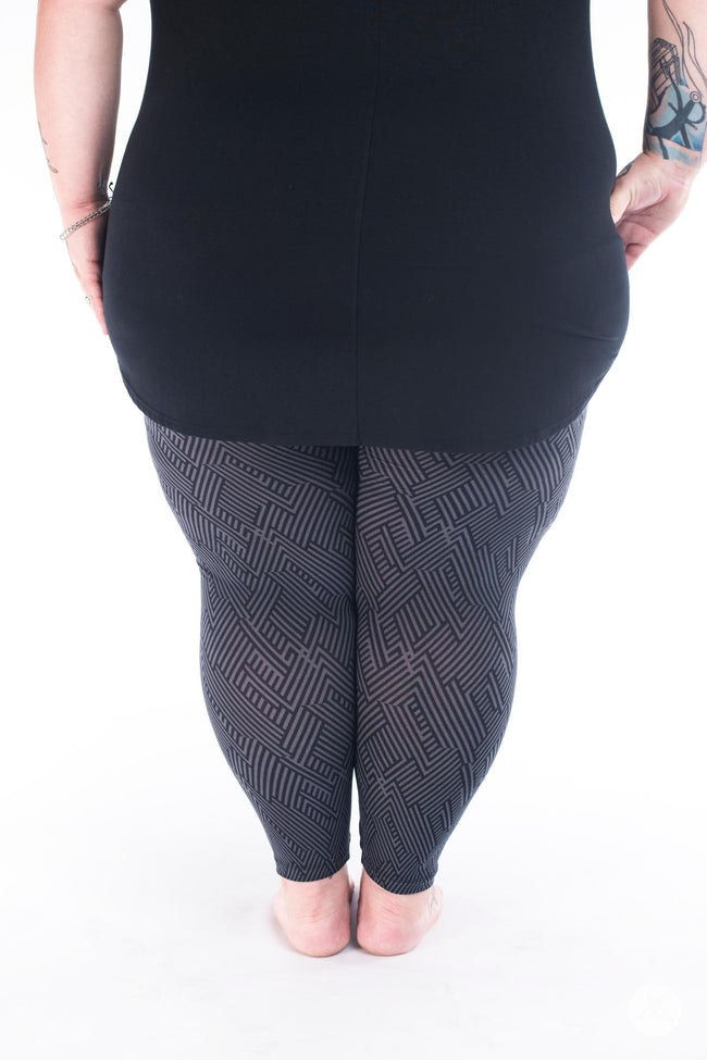 Nightwire  Plus2 leggings - SweetLegs