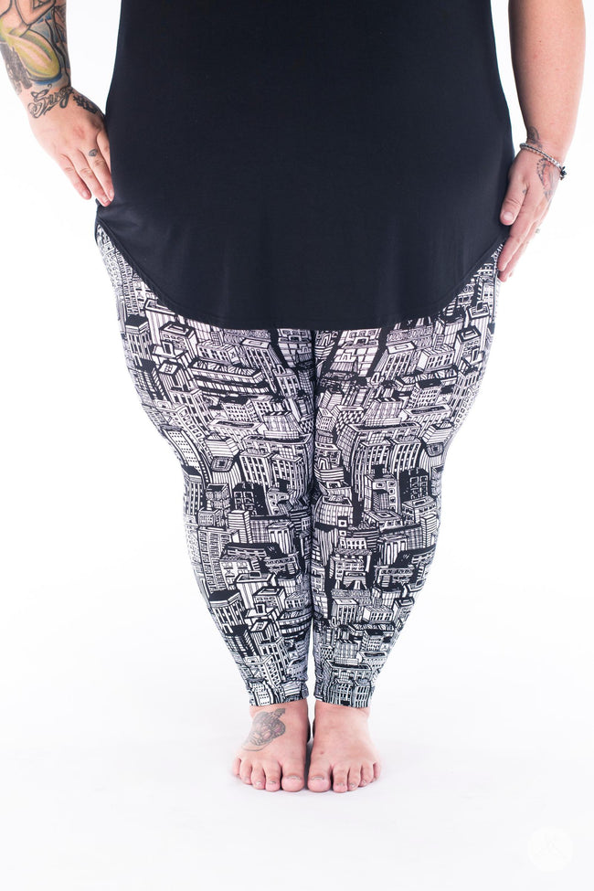 Downtown Plus2 leggings - SweetLegs