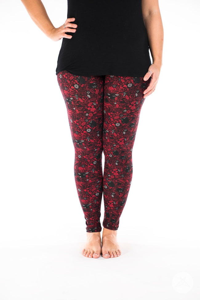 Glamrock leggings - SweetLegs