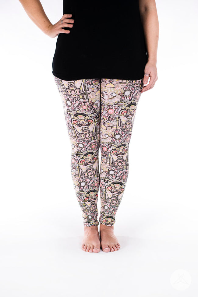Crown Jewels leggings - SweetLegs