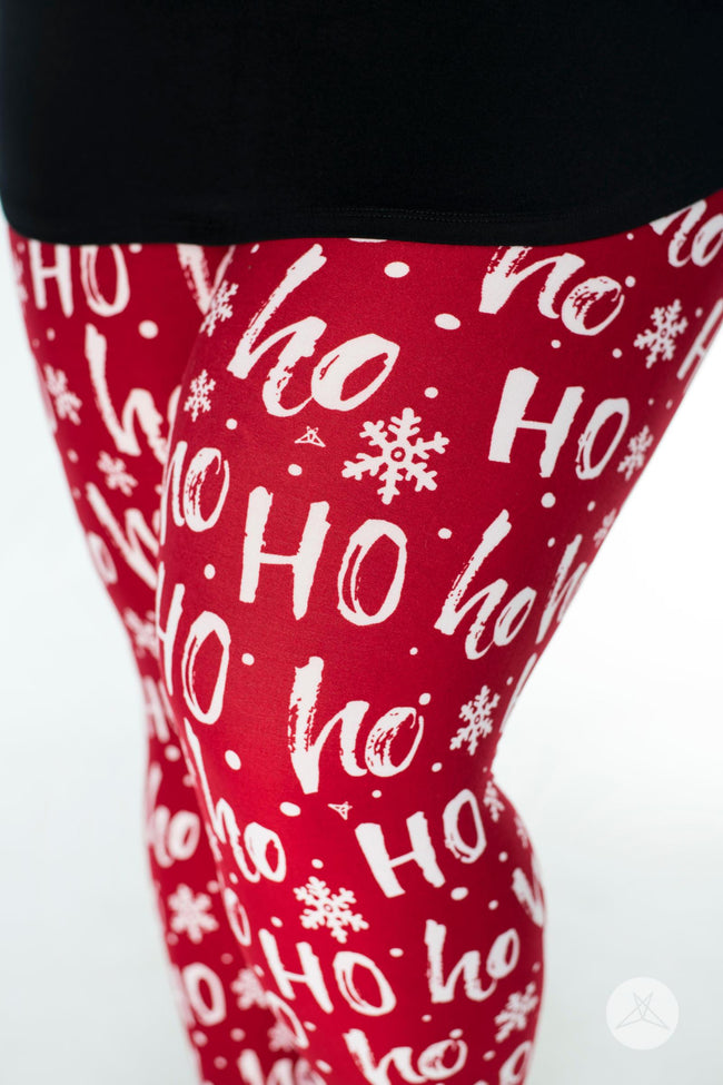 Santa Baby Plus leggings - SweetLegs
