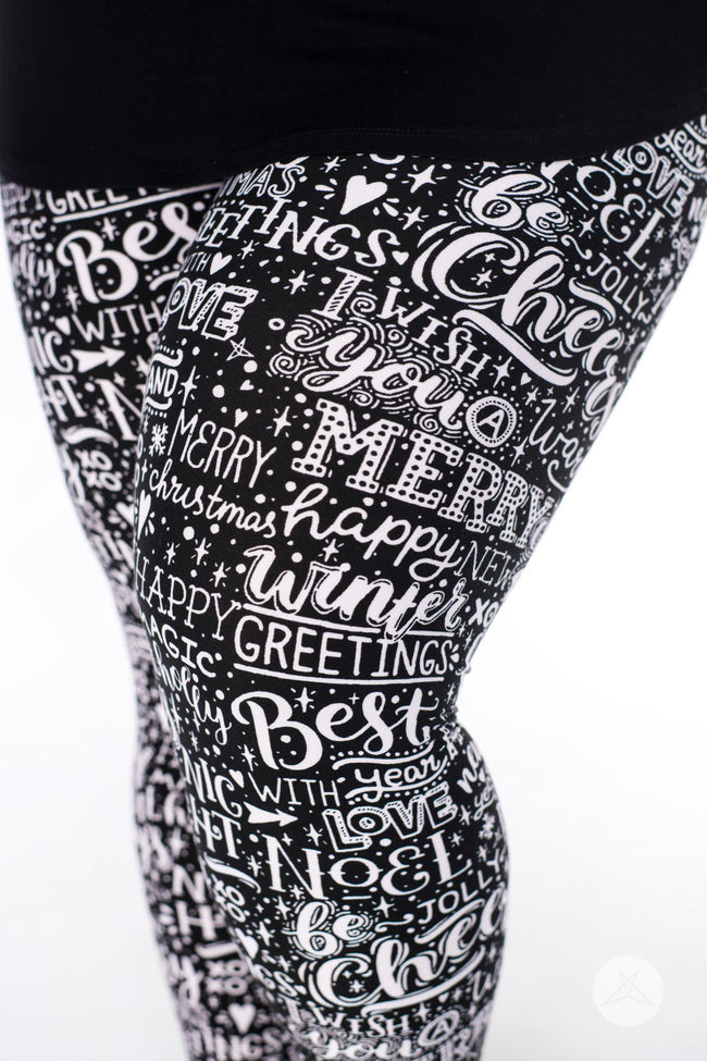 Season's Greetings Plus leggings - SweetLegs