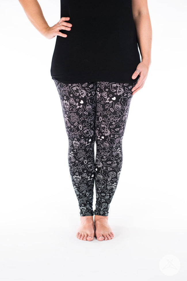 Girl Power leggings - SweetLegs