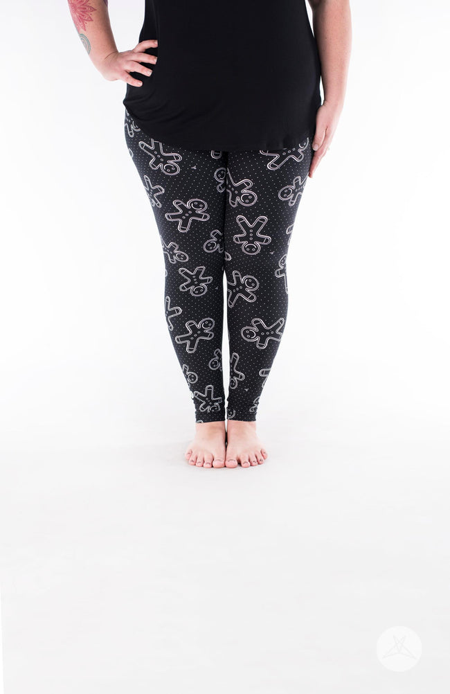 Oh Snap Plus leggings - SweetLegs