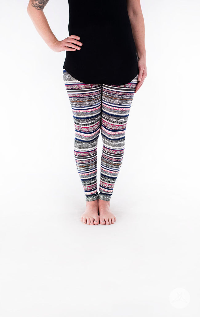 Threaded Dreams 2.0 Petite leggings - SweetLegs