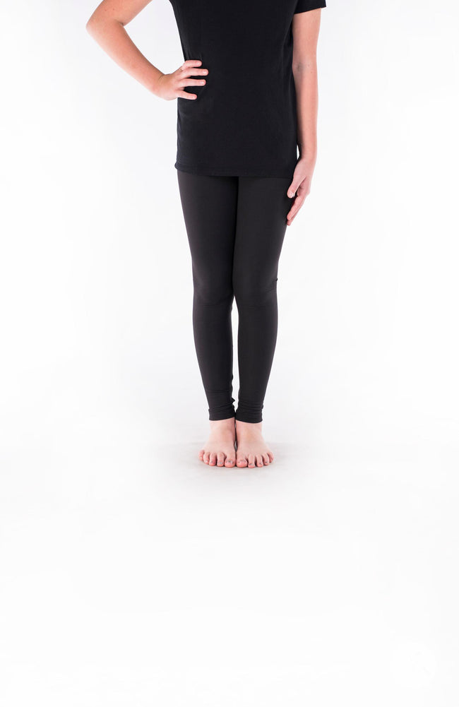Black Licorice Kids leggings - SweetLegs