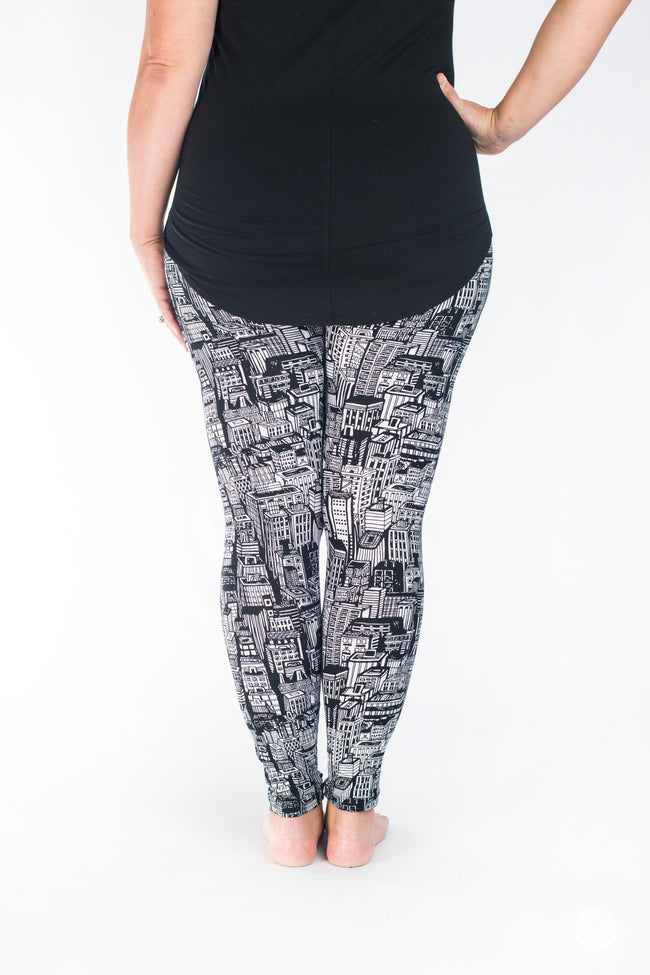 Downtown leggings - SweetLegs