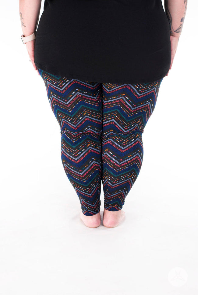 Fantasia Plus2 leggings - SweetLegs