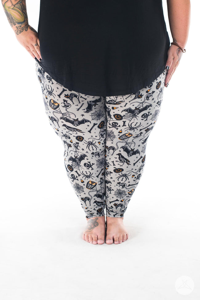 Spooktacular Plus2 leggings - SweetLegs