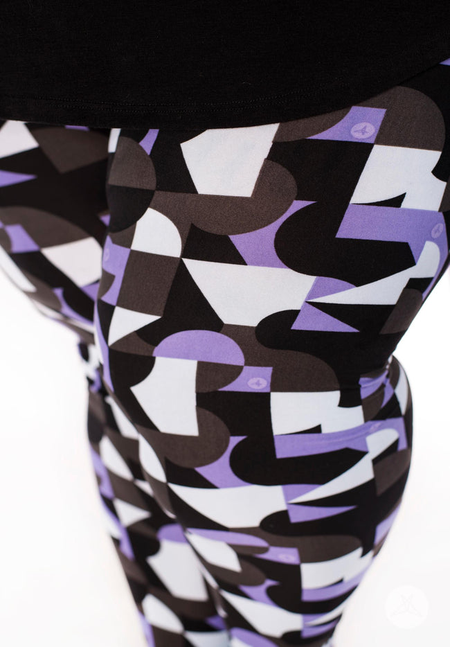 Freestyle Plus2 leggings - SweetLegs