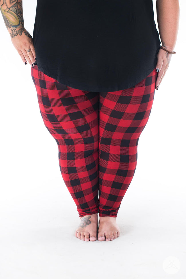 Ember Plus2 leggings - SweetLegs