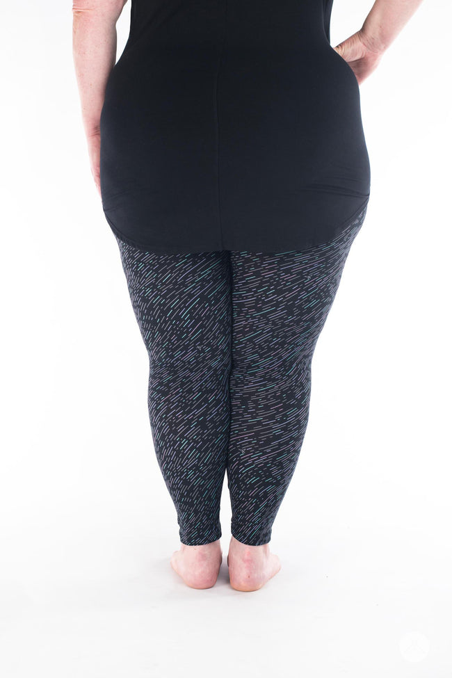 Night Sky Plus leggings - SweetLegs