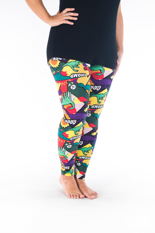 Prehistoric Punch leggings - SweetLegs