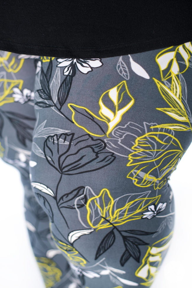 Night Bloom Plus2 leggings - SweetLegs