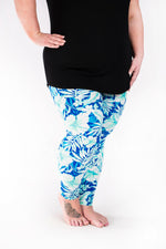 Tropical Bliss Plus leggings - SweetLegs