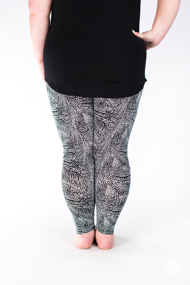 Charmed Plus leggings - SweetLegs