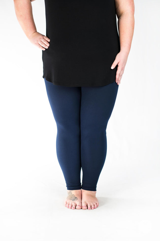 Midnight Plus leggings - SweetLegs