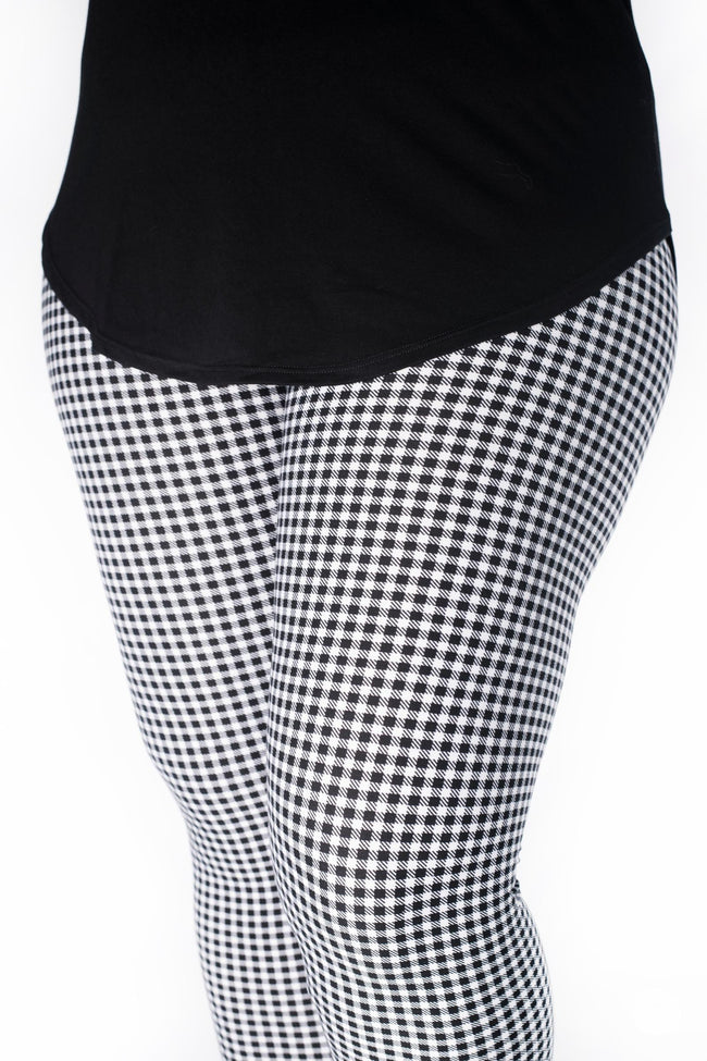 Gingham Style leggings - SweetLegs