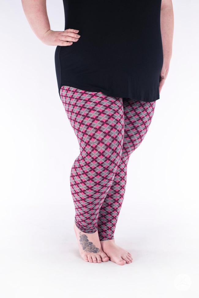 Mariposa Plus leggings - SweetLegs