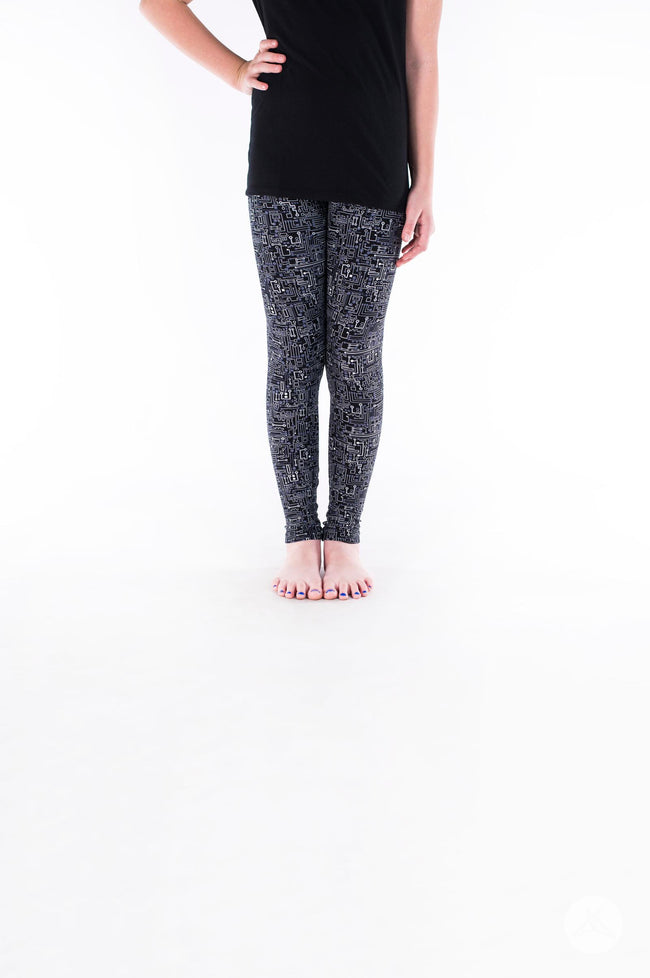 Short Circuit Kids leggings - SweetLegs