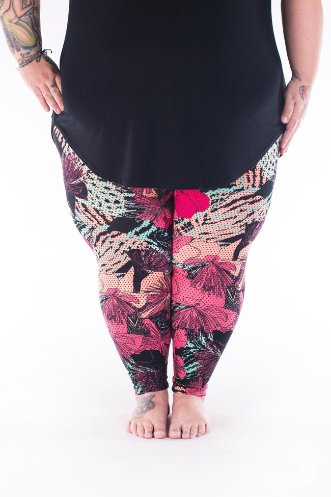 Keep It Breezy Plus2 leggings - SweetLegs