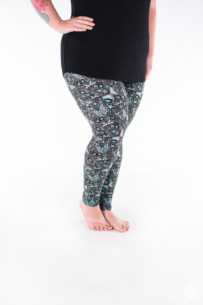 Everglades Plus leggings - SweetLegs
