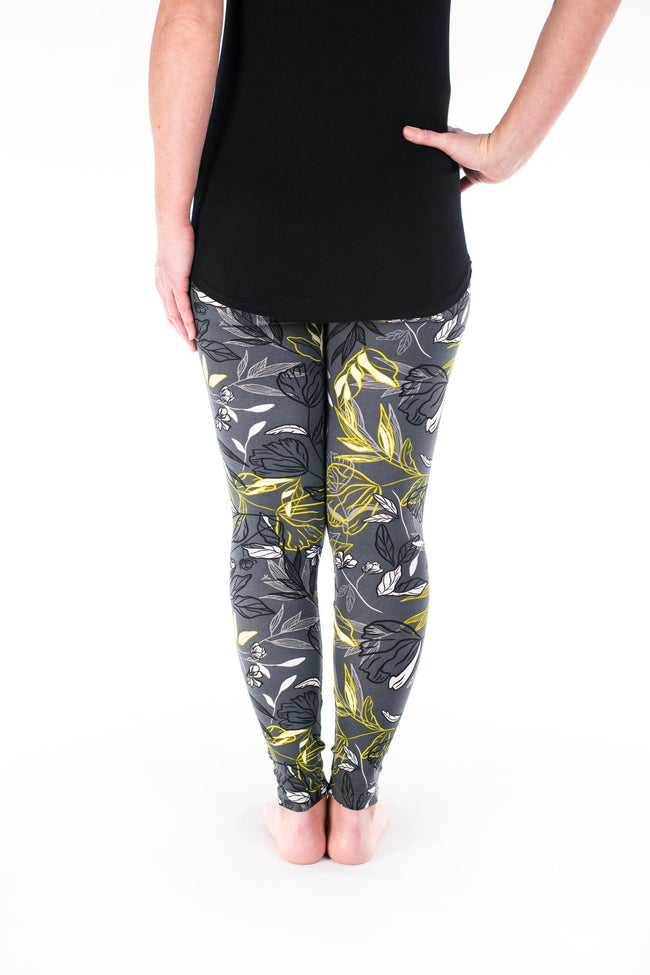 Night Bloom Petite leggings - SweetLegs