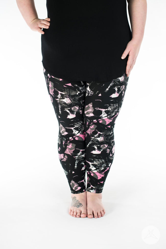 Mayhem Plus leggings - SweetLegs