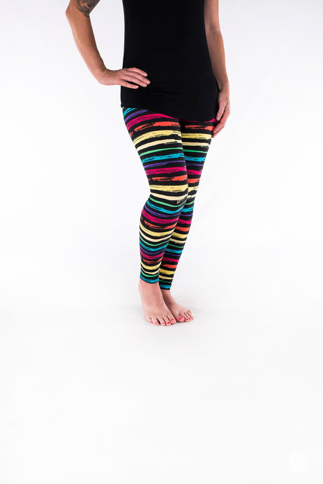 Rainbow Road Petite leggings - SweetLegs