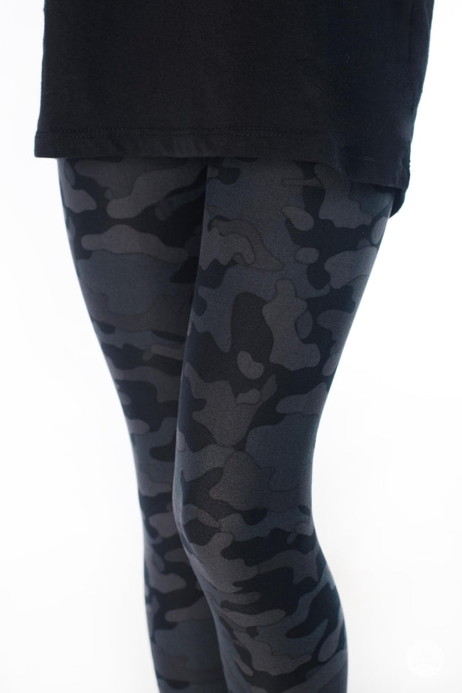 Blackout Kids leggings - SweetLegs
