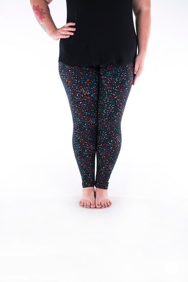 Sparks Fly Plus leggings - SweetLegs