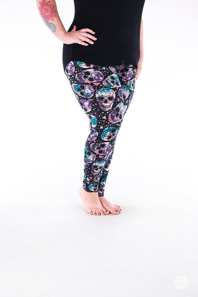 Knockout Plus leggings - SweetLegs